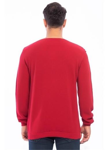 Rodi Jeans Erkek Triko Bis.Yaka Nopenli 402 RD19KE378821 Kırmızı